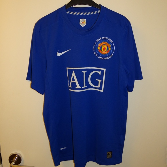 newest 563ee 2dfef Manchester United ManU Jersey Special Edition M